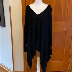 Black V-neck sweater by Mossimo in size Large